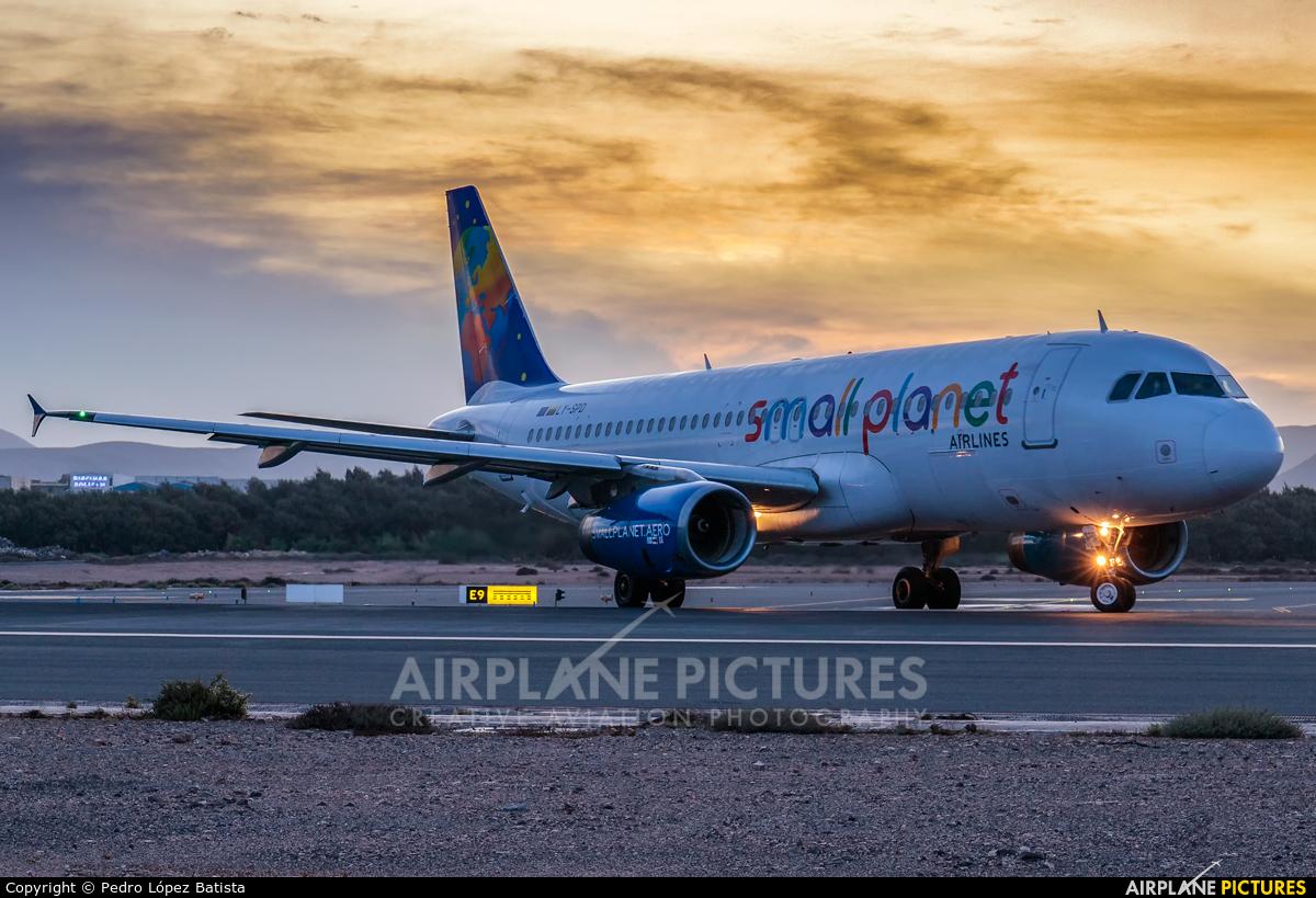 Small Planet Airlines LY-SPD aircraft at Fuerteventura - Puerto del Rosario