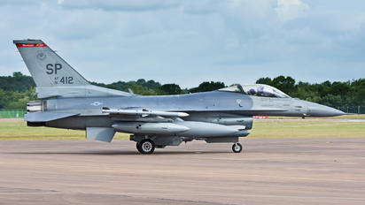 91-0412 - USA - Air Force General Dynamics F-16CJ Fighting Falcon