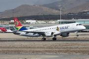 ZS-YAL - South African Airlink Embraer ERJ-190 (190-100) aircraft