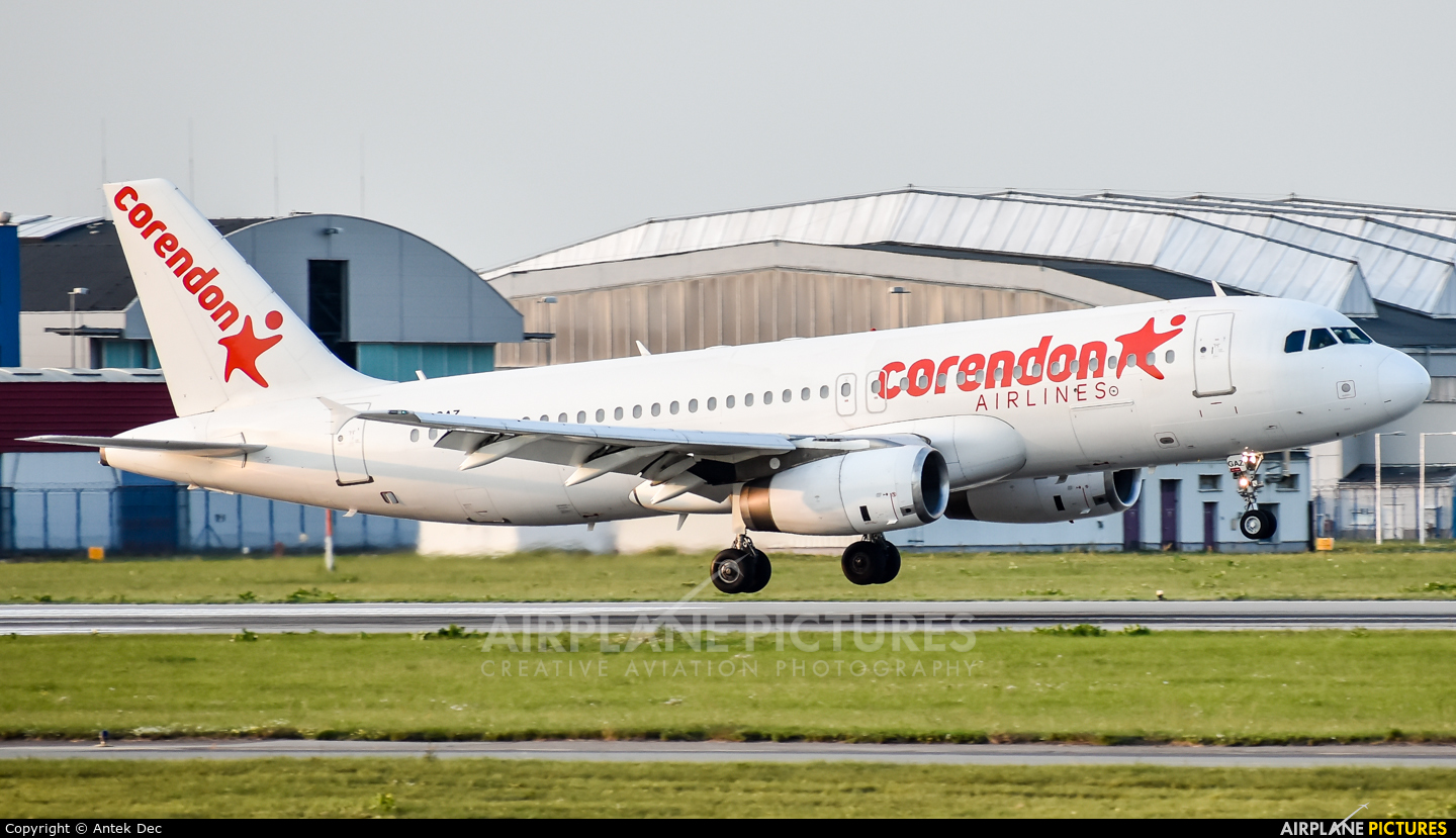 Corendon Airlines ZS-GAZ aircraft at Warsaw - Frederic Chopin