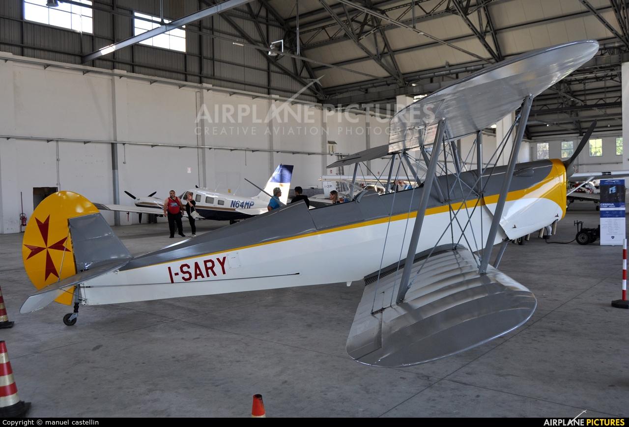 Private I-SARY aircraft at Milan - Bresso