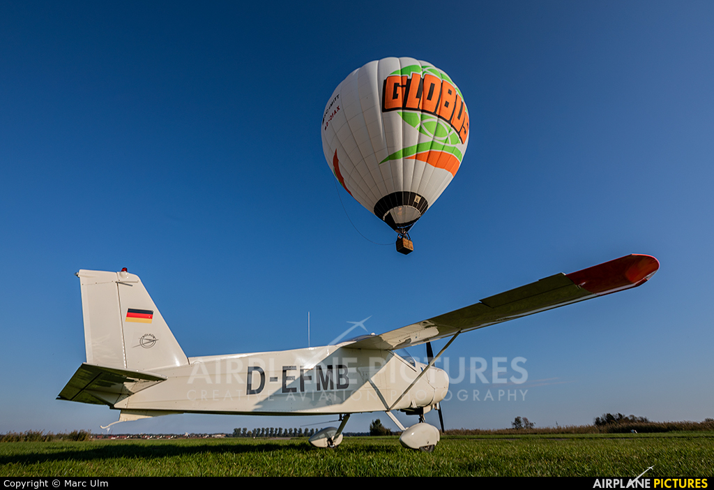 Private D-EFMB aircraft at Donauwörth - Genderkingen