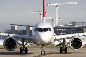 HB-JCN - Swiss Bombardier CS300