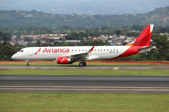 N987TA - Avianca Embraer ERJ-190 (190-100)