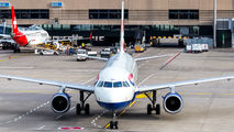 G-EUUH - British Airways Airbus A320 aircraft