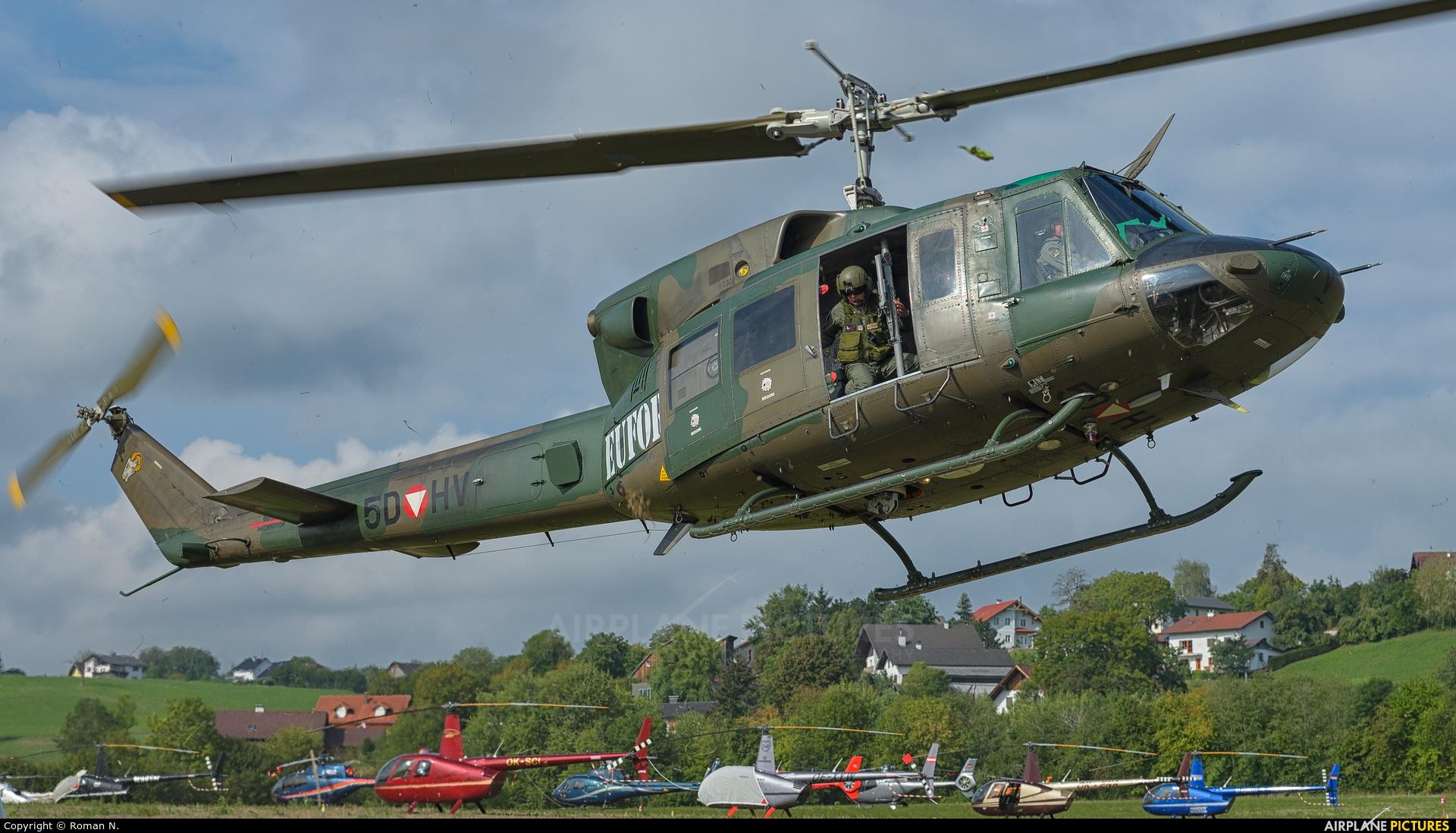 Austria - Air Force 5D-HV aircraft at Off Airport - Austria