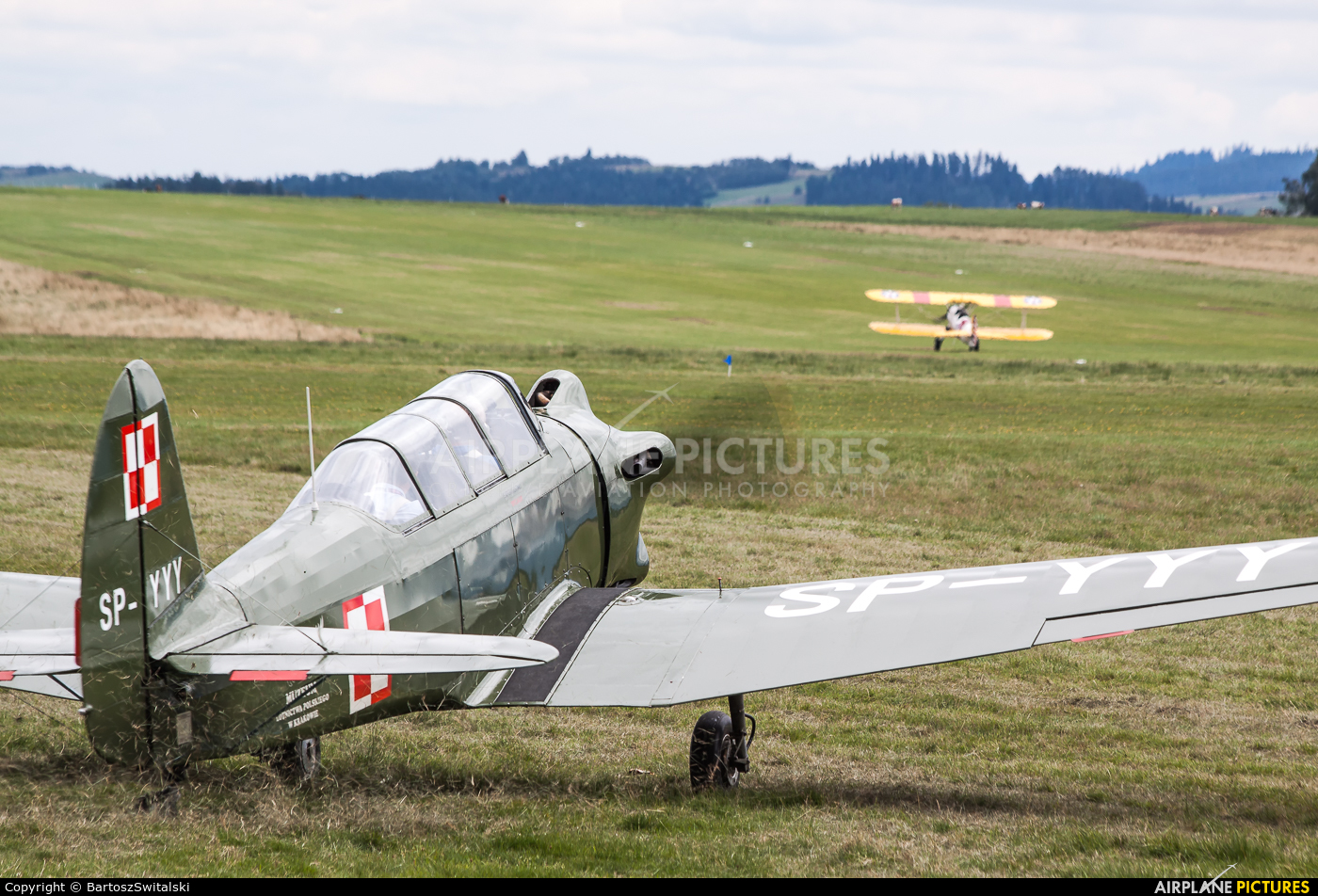 Museum of Polish Aviation SP-YYY aircraft at Nowy Targ