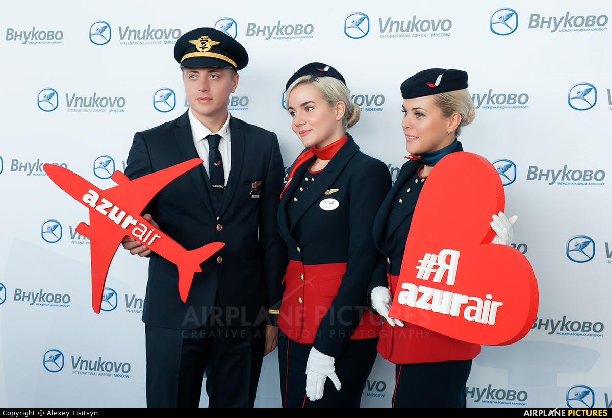 AzurAir - aircraft at Moscow - Vnukovo