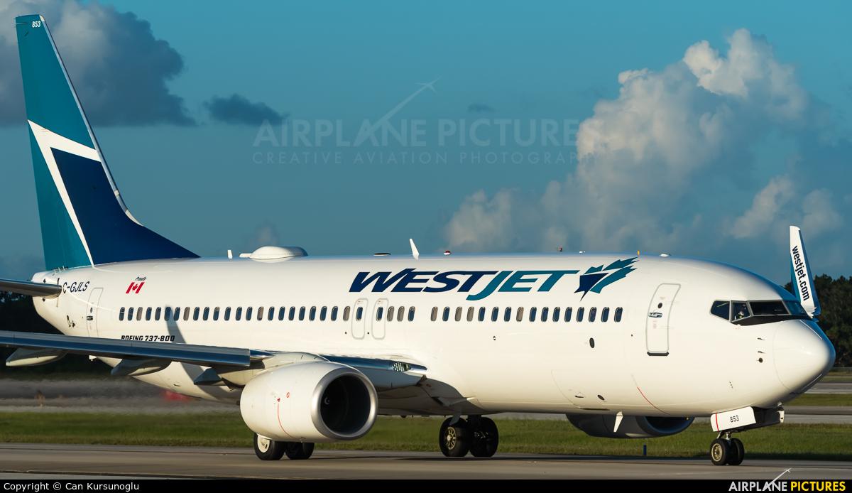WestJet Airlines C-GJLS aircraft at Orlando Intl