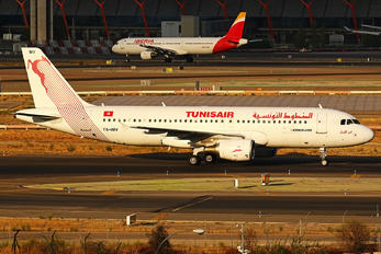 TS-IMV - Tunisair Airbus A320