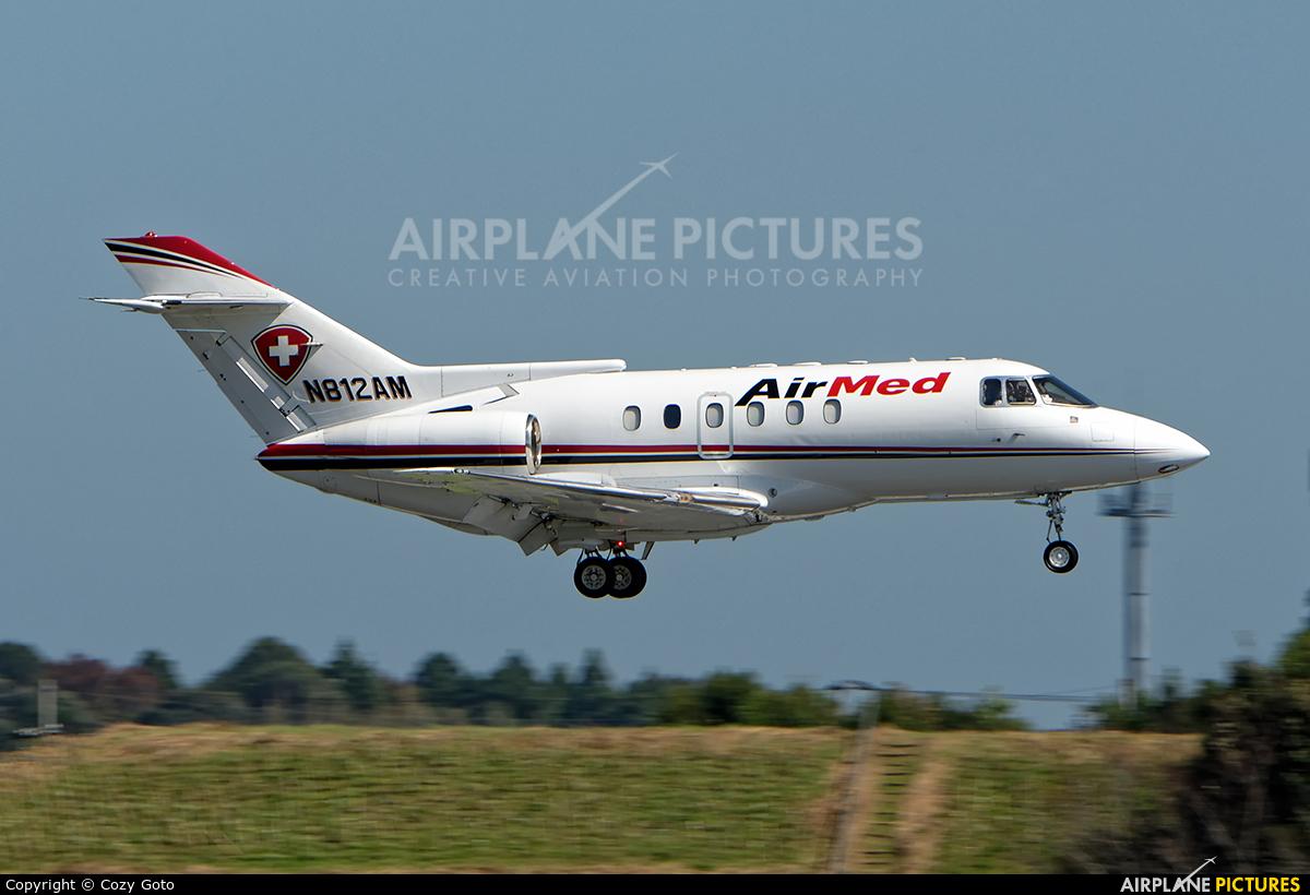 AirMed N812AM aircraft at Tokyo - Narita Intl