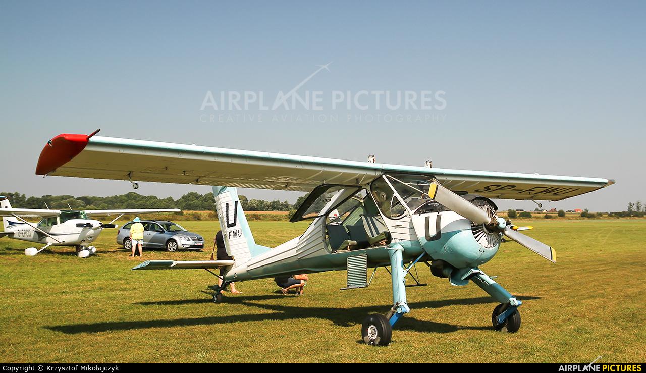 Private SP-FWU aircraft at Wrocław - Szymanów