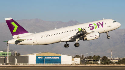 CC-ABW - Sky Airlines (Chile) Airbus A320