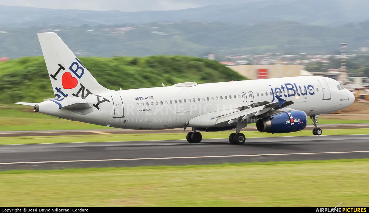 JetBlue Airways N586JB aircraft at San Jose - Juan Santamaría Intl