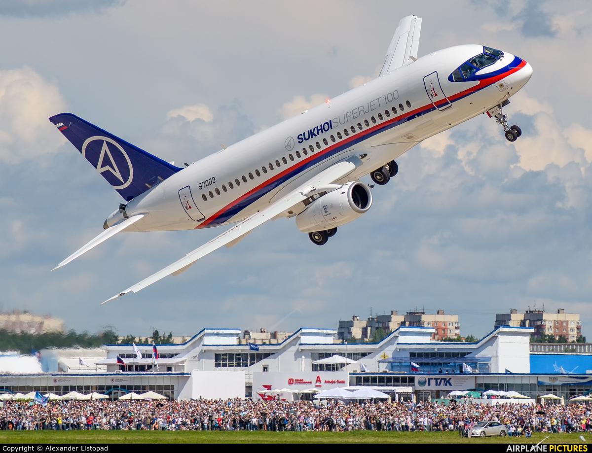 Sukhoi Design Bureau 97003 aircraft at Ramenskoye - Zhukovsky