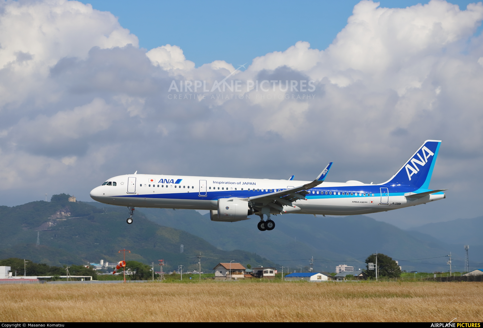 ANA - All Nippon Airways JA138A aircraft at Kōchi