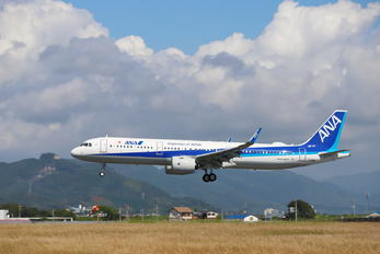 JA138A - ANA - All Nippon Airways Airbus A321 NEO