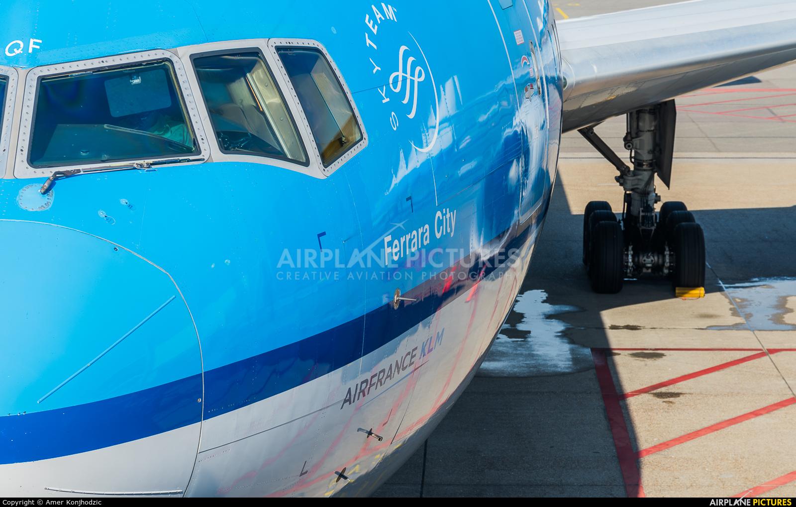 KLM PH-BQF aircraft at Amsterdam - Schiphol