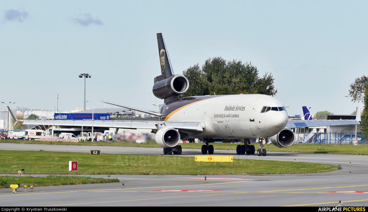 UPS - United Parcel Service N273UP aircraft at Warsaw - Frederic Chopin