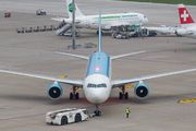 Rare visit of Uzbekistan B763 to Zurich title=