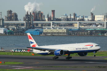 G-STBJ - British Airways Boeing 777-300ER