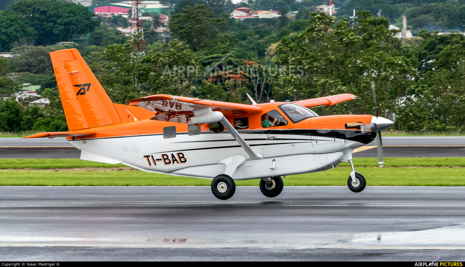 Private TI-BAB aircraft at San Jose - Juan Santamaría Intl