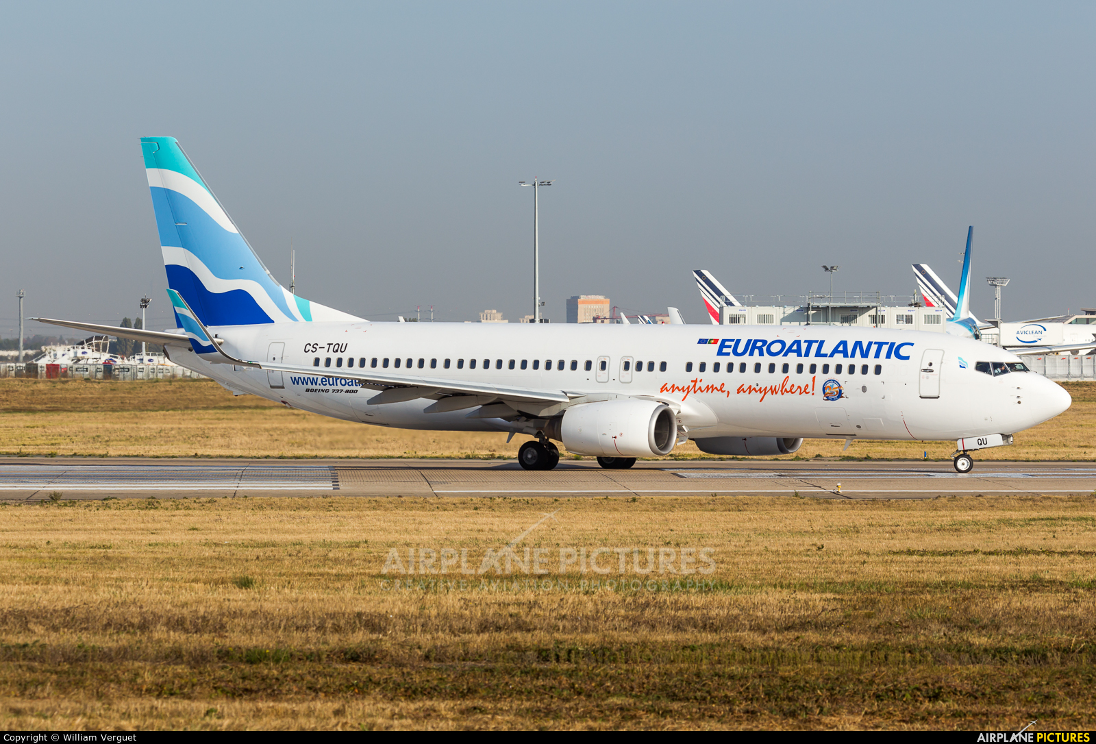 Euro Atlantic Airways CS-TQU aircraft at Paris - Orly
