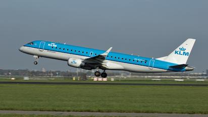 PH-EZY - KLM Cityhopper Embraer ERJ-190 (190-100)