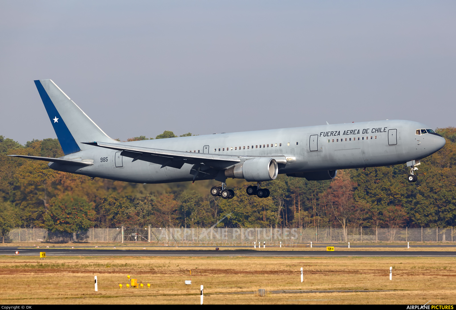 Chile - Air Force 985 aircraft at Berlin - Tegel