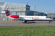 First Embraer E135 for Loganair title=