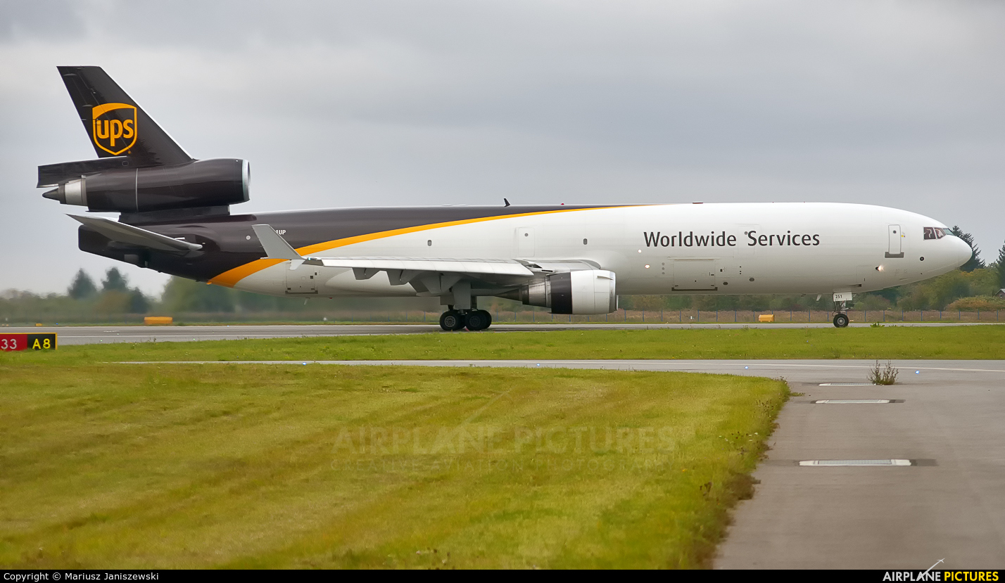 UPS - United Parcel Service N251UP aircraft at Warsaw - Frederic Chopin
