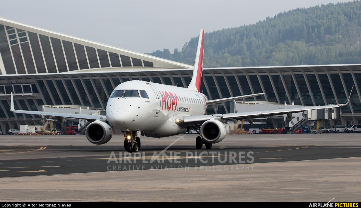 Air France - Hop! F-HBXC aircraft at Bilbao