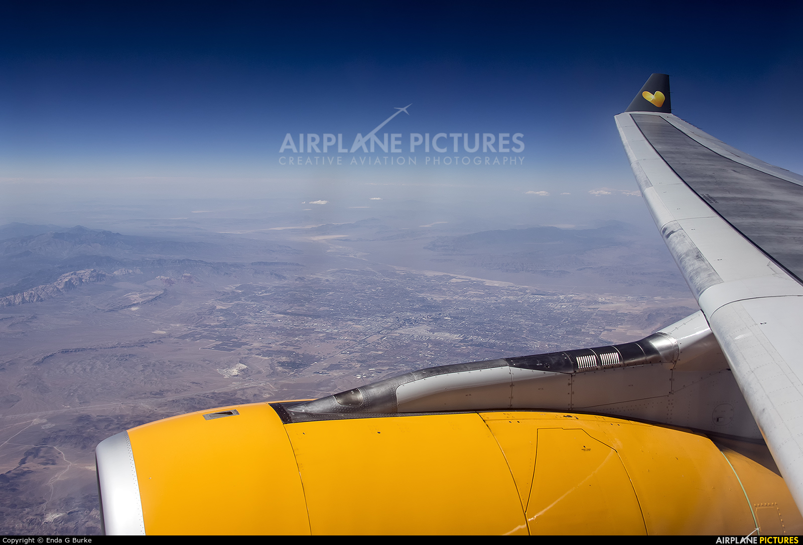 Thomas Cook G-OMYT aircraft at Off Airport - Nevada