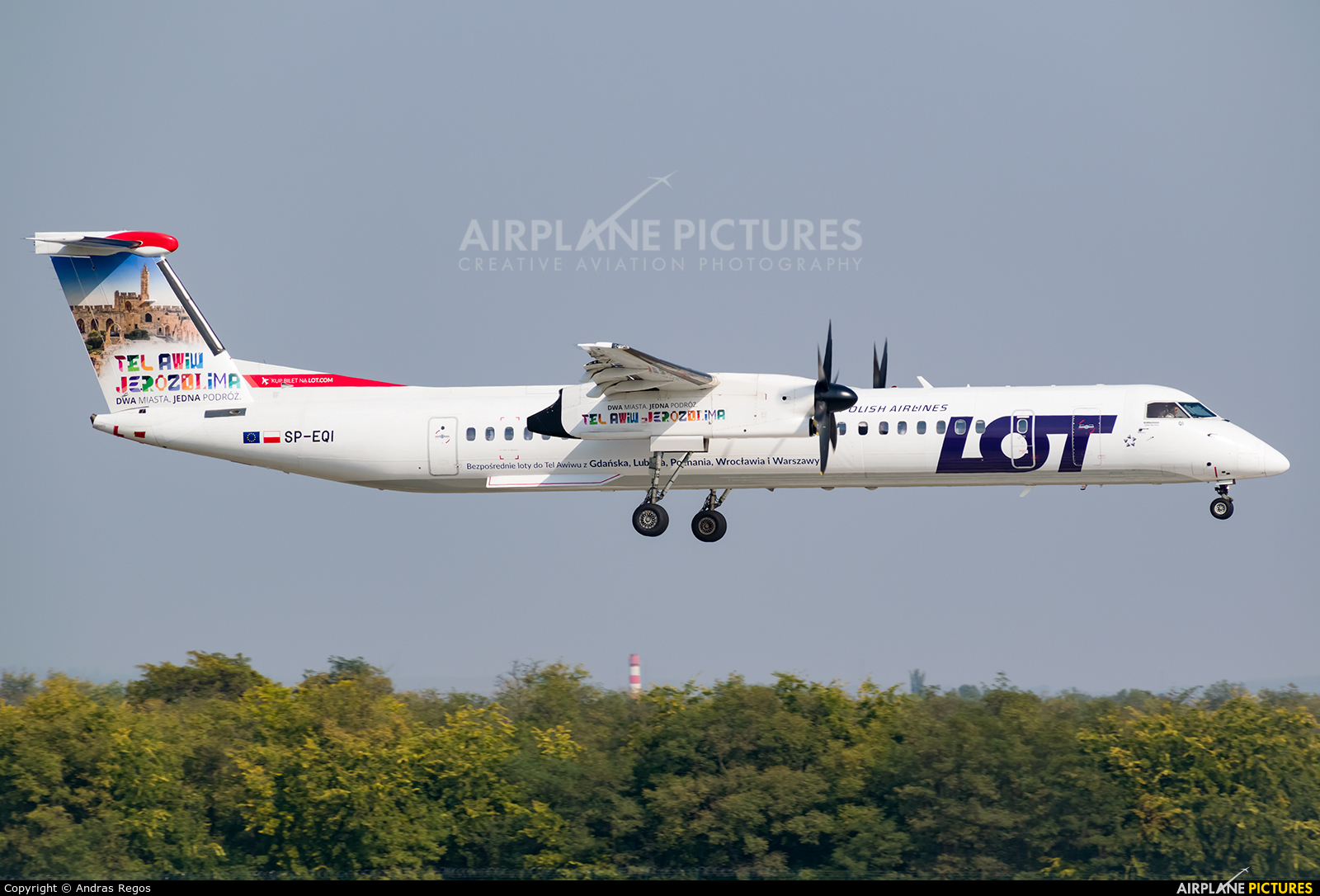 LOT - Polish Airlines SP-EQI aircraft at Budapest Ferenc Liszt International Airport