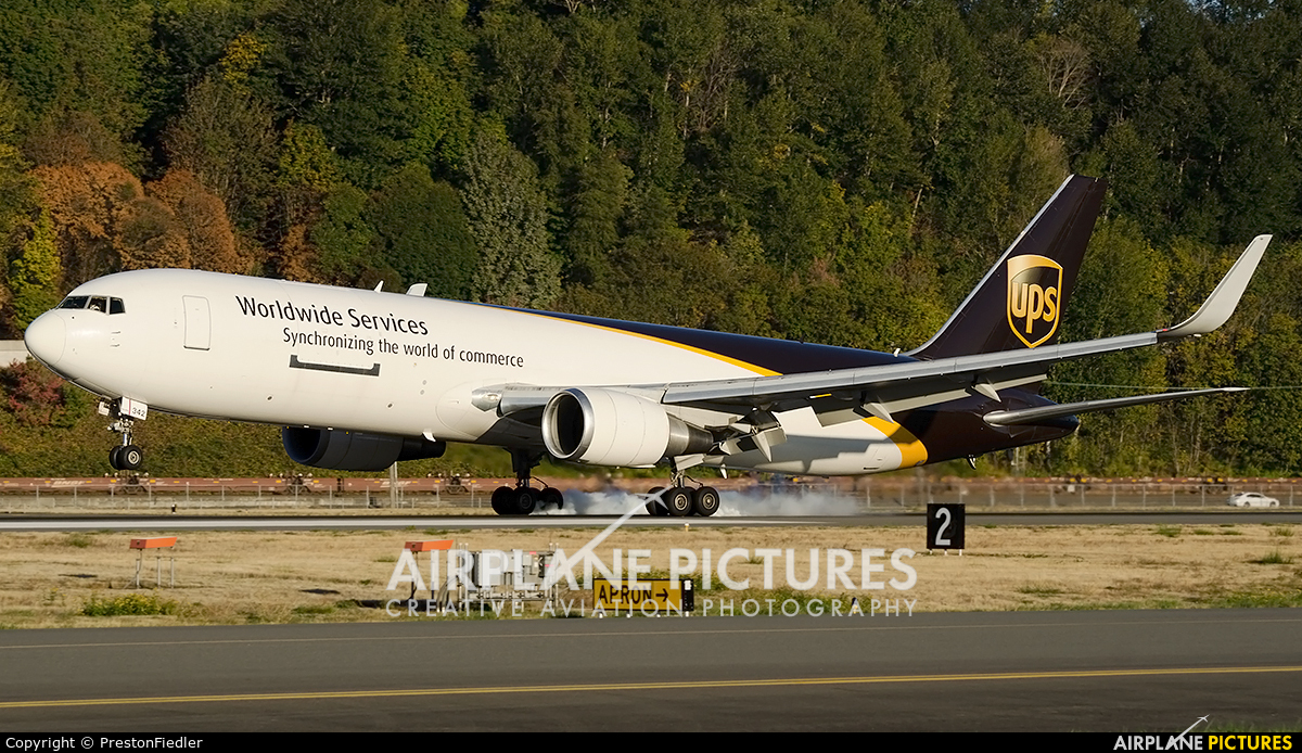 UPS - United Parcel Service N342UP aircraft at Seattle - Boeing Field / King County Intl
