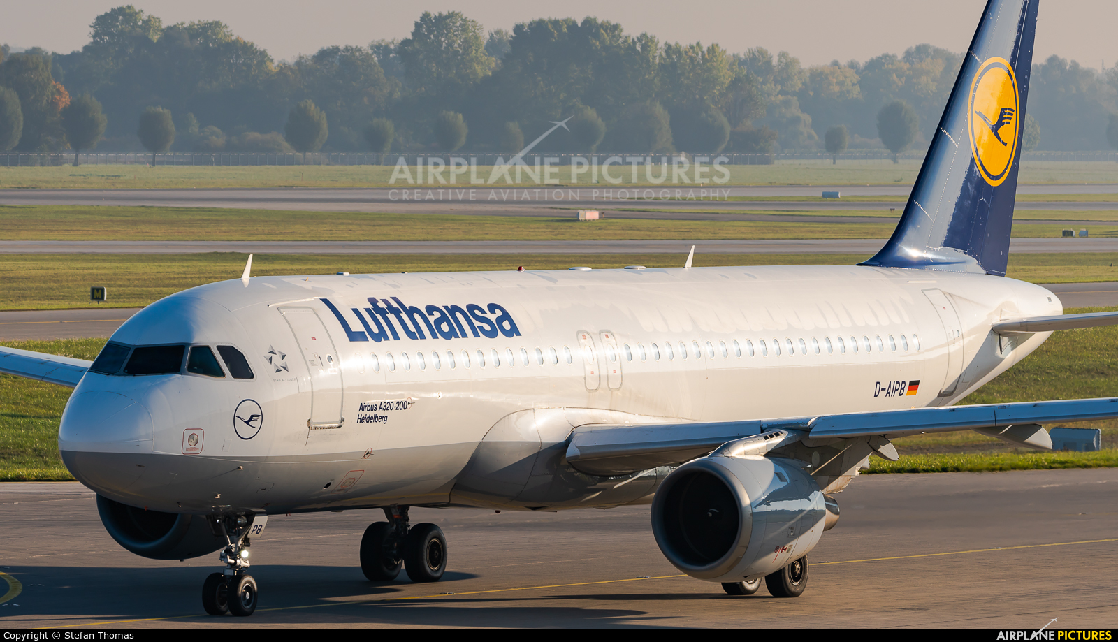 Lufthansa D-AIPB aircraft at Munich