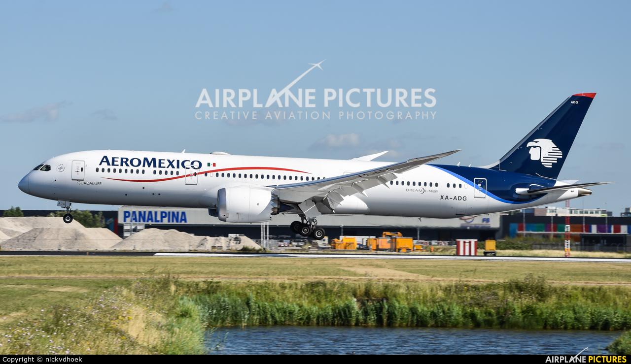 Aeromexico XA-ADG aircraft at Amsterdam - Schiphol