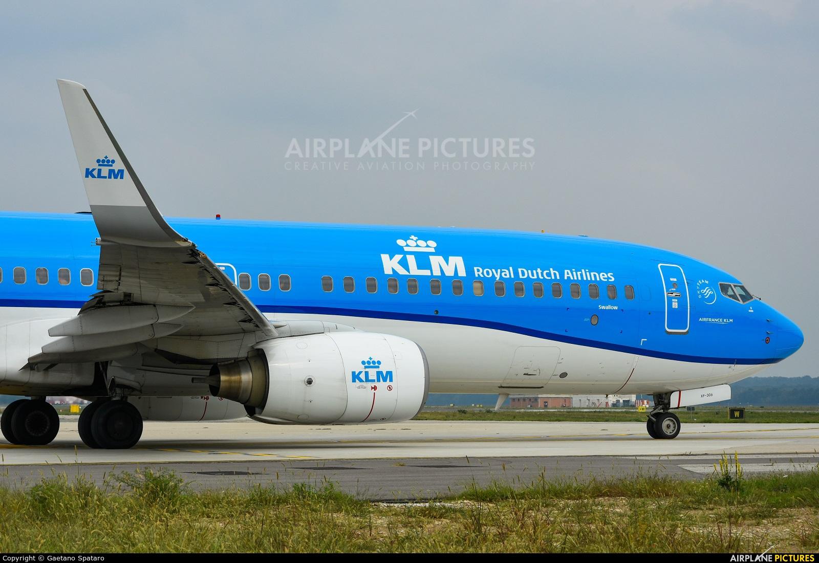 KLM PH-BXF aircraft at Milan - Malpensa