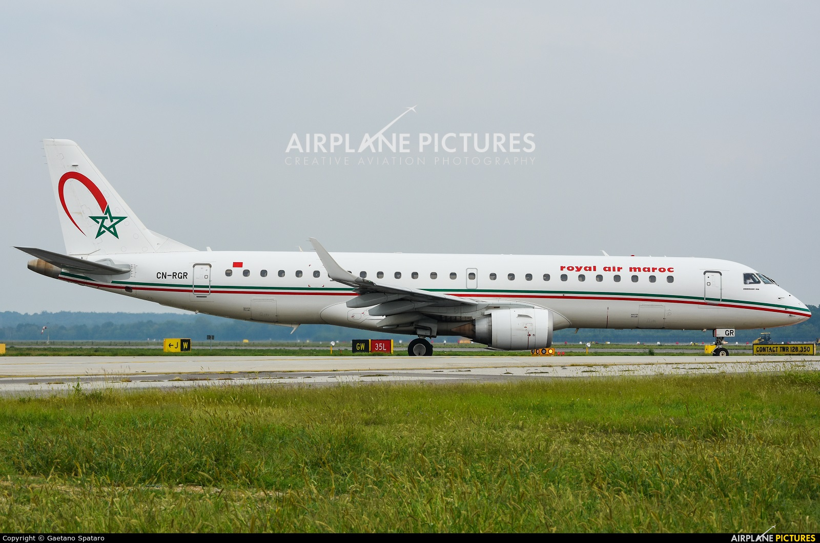 Royal Air Maroc CN-RGR aircraft at Milan - Malpensa
