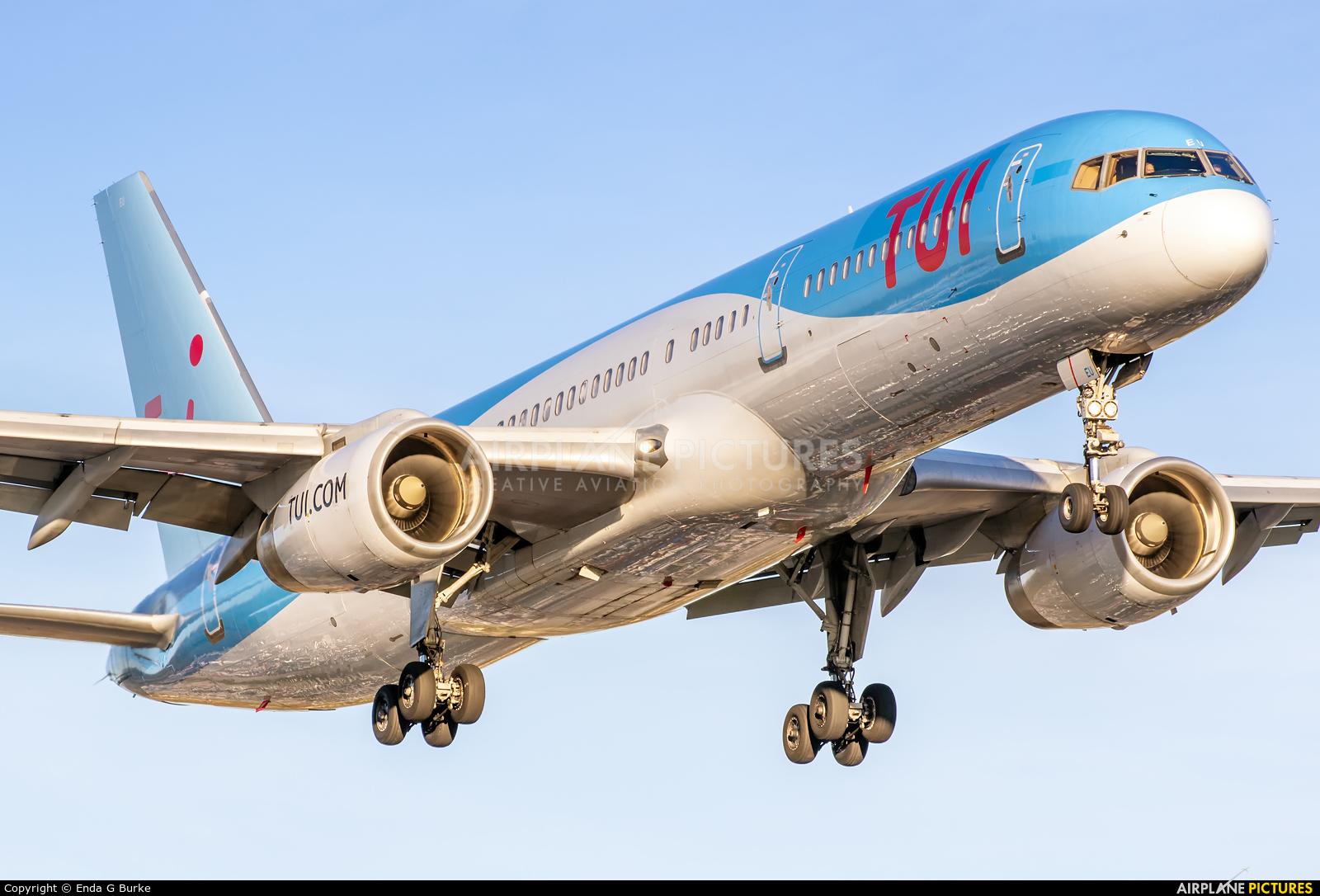 TUI Airways G-CPEU aircraft at Manchester
