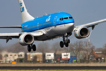 PH-BGH - KLM Boeing 737-700