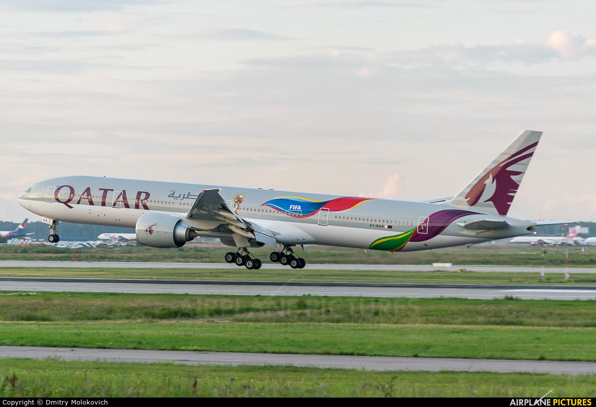 Qatar Airways A7-BAX aircraft at Moscow - Domodedovo