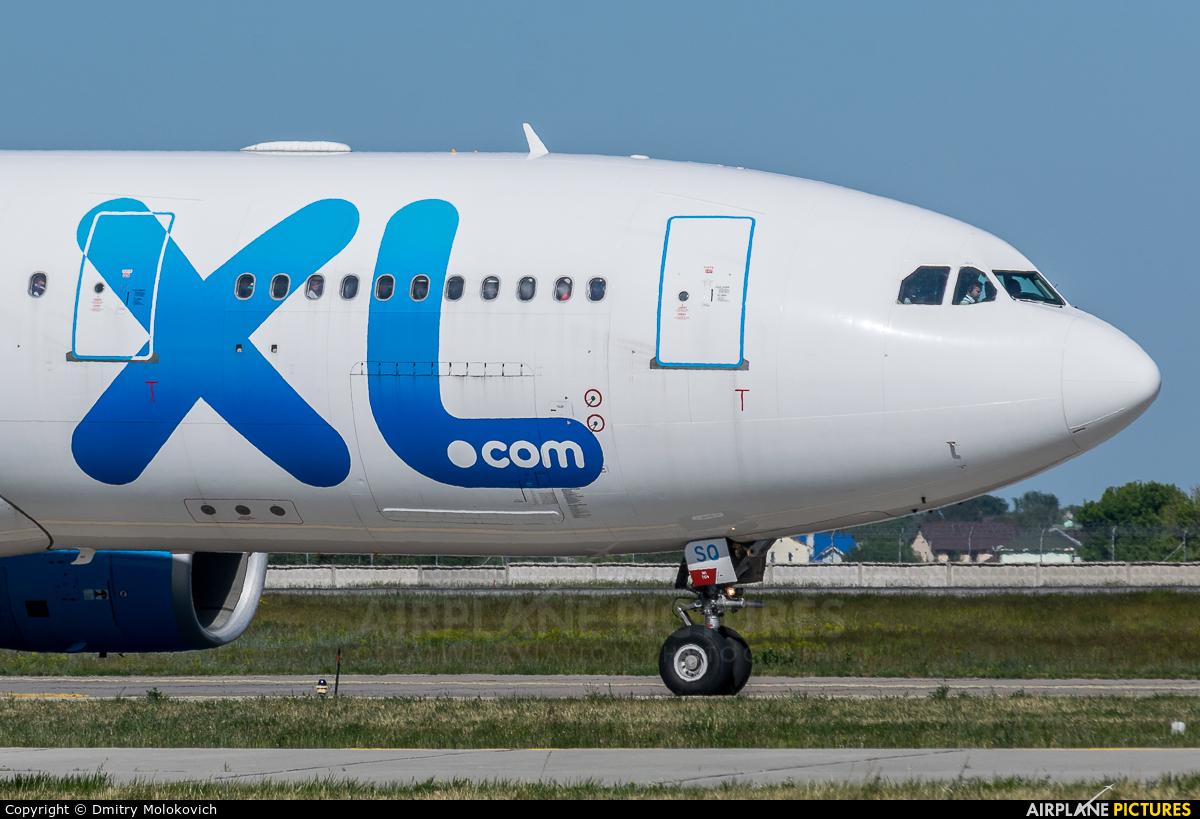 XL Airways France F-GRSQ aircraft at Kiev - Borispol