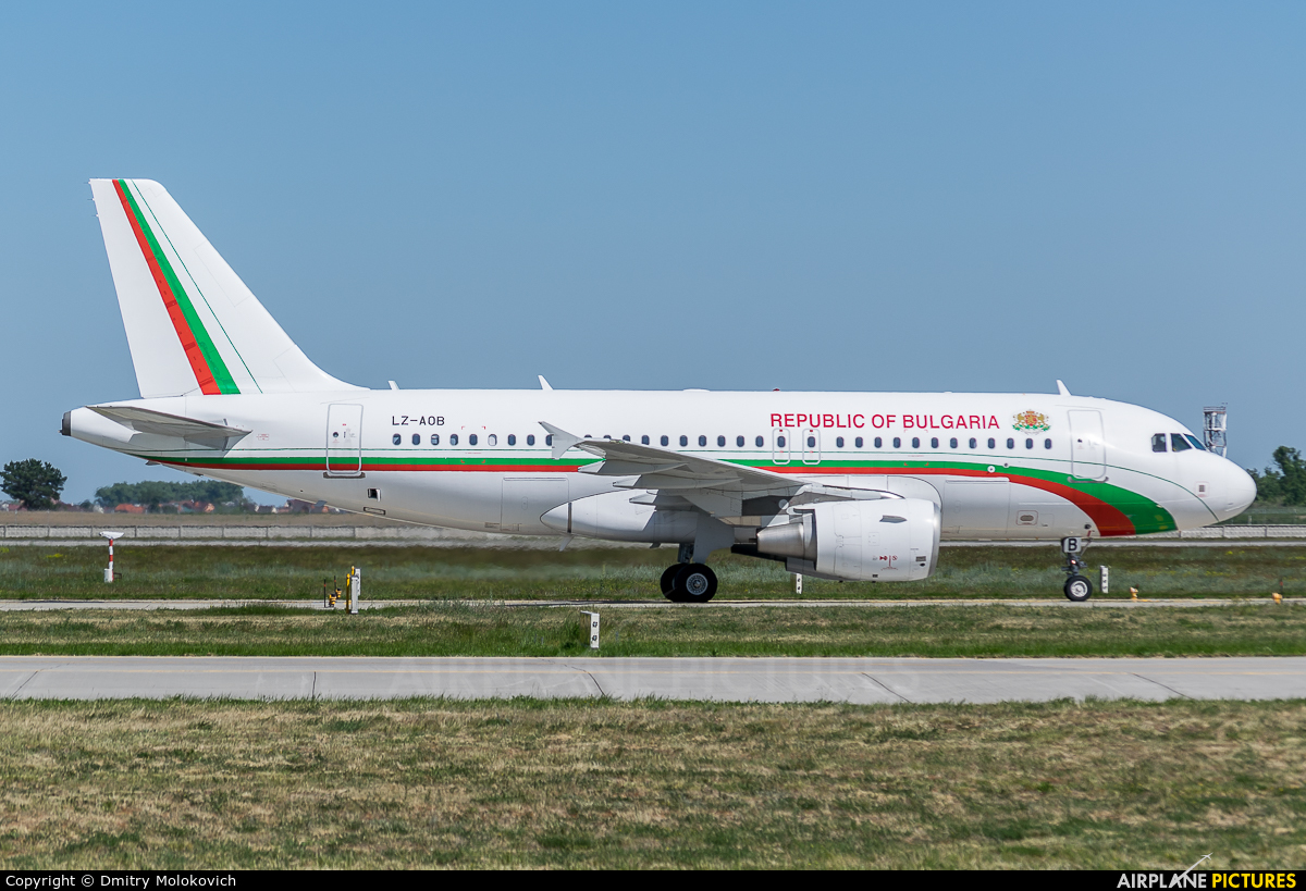 Bulgaria - Government LZ-AOB aircraft at Kiev - Borispol