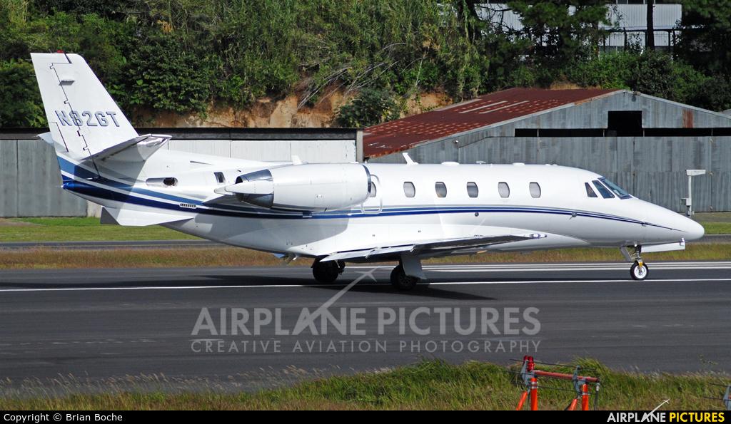 Private N82GT aircraft at Guatemala - La Aurora