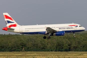 G-EUYL - British Airways Airbus A320
