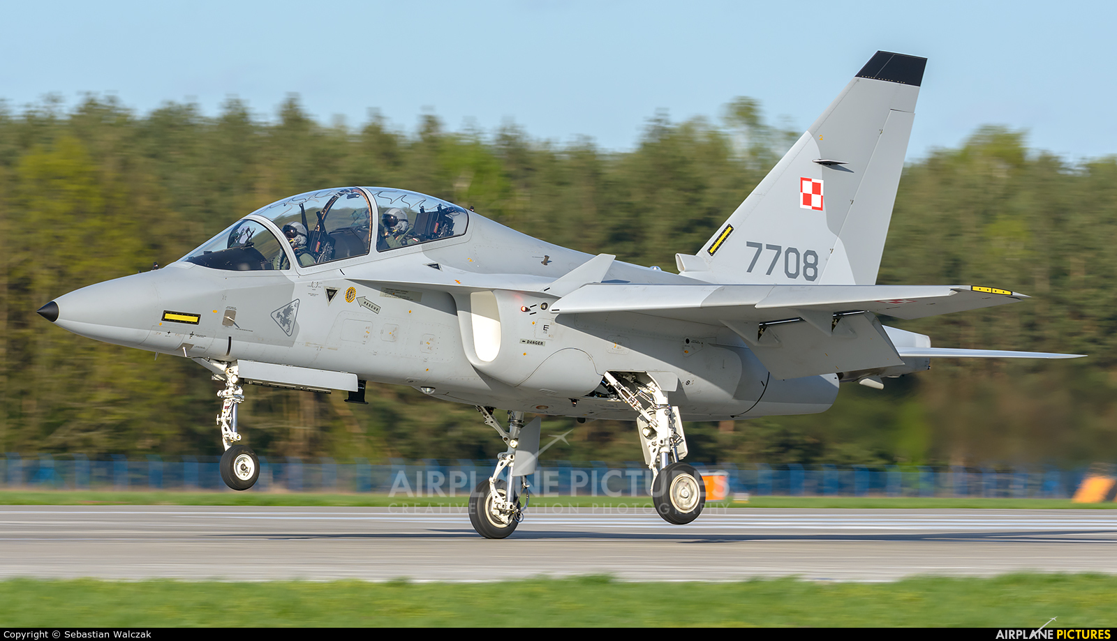Poland - Air Force 7708 aircraft at Dęblin