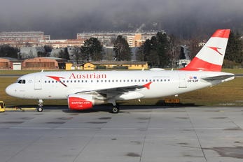 OE-LDF - Austrian Airlines/Arrows/Tyrolean Airbus A319
