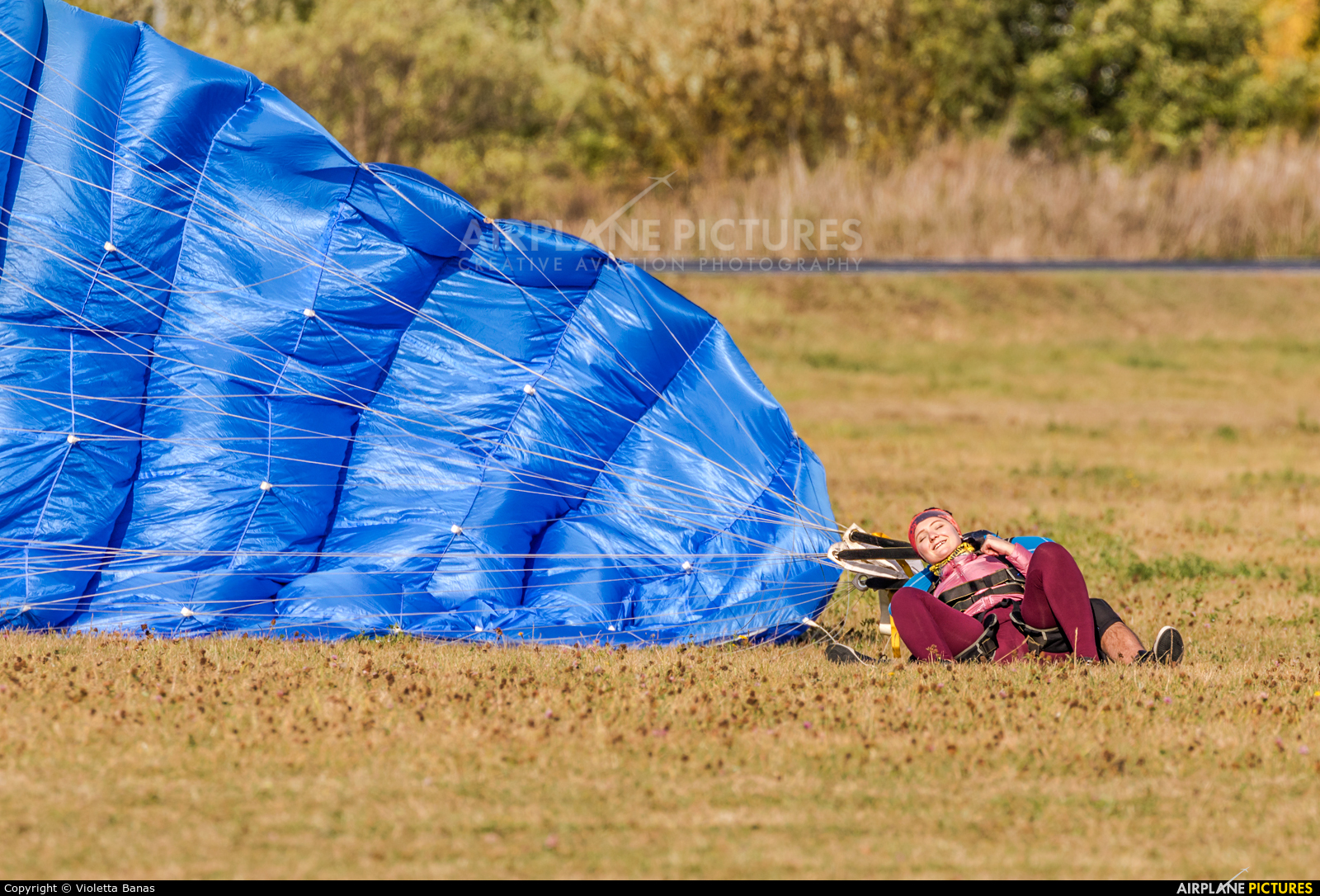 Parachute - aircraft at Inowrocław
