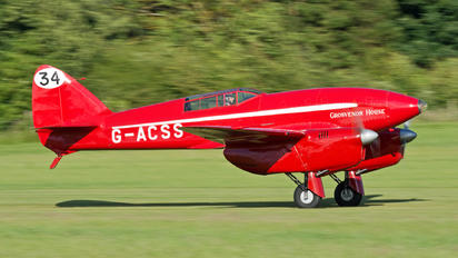 G-ACSS - The Shuttleworth Collection de Havilland DH. 88 Comet